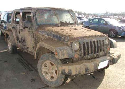 crashed jeep wrangler repairable salvage cars for sale wrecked motorcycles and