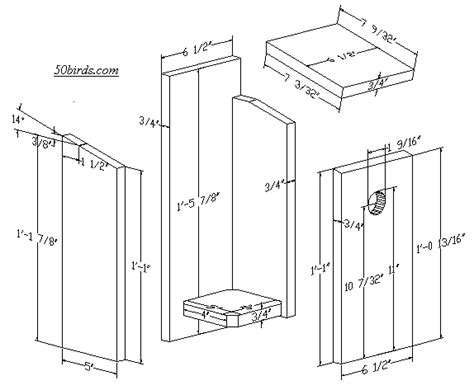 will a bluebird house dimensions work for chickadees and