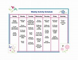 13+ Activity Schedule Templates - Word, Excel, PDF   Free ...
