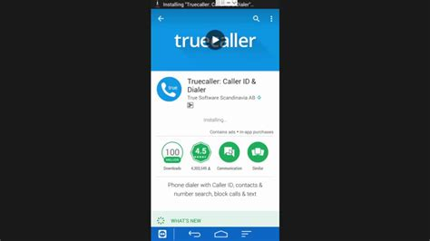 how to and install truecaller caller id dialer on android device mobile phone from