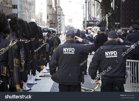 counter terrorism bureau york jan 13 2017 nypd stock photo 591441002