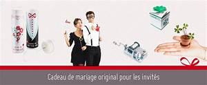 Cadeau De Mariage Original : cadeau de mariage original pour les invit s le maestro blog ~ Melissatoandfro.com Idées de Décoration
