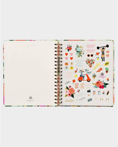 garden party planner large papershop
