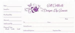8 Best Images of Photography Gift Certificate Template ...