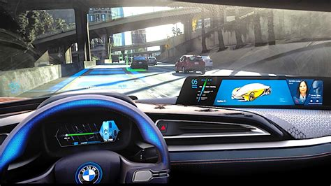 Co Bmw by Bmw Self Driving Car Demonstration Bmw I8 Roadster 2018