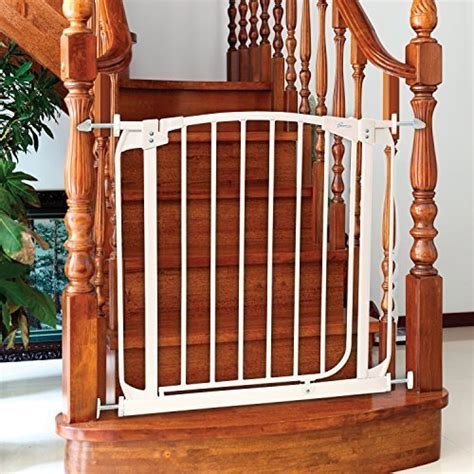 Baby Gate For Top Of Stairs With Banister And Wall by Best Baby Gates For Stairs 2019 Top And Bottom