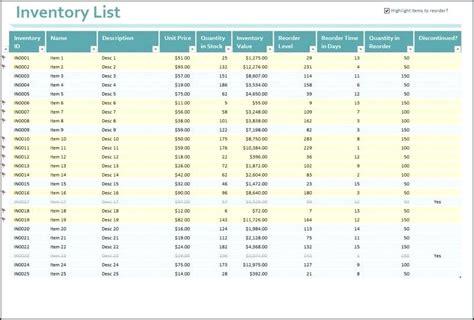 Asset Register Template Excel