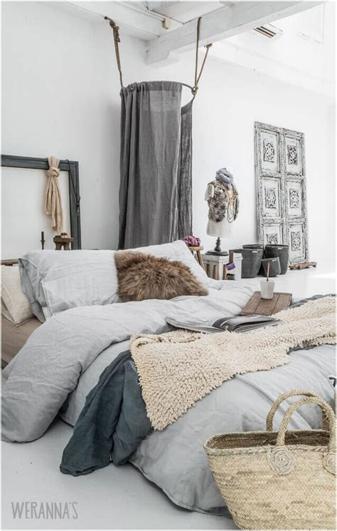 cozy bedroom in grey with beautiful home decorations 15 naturally cozy bedroom ideas and inspirations interior designology