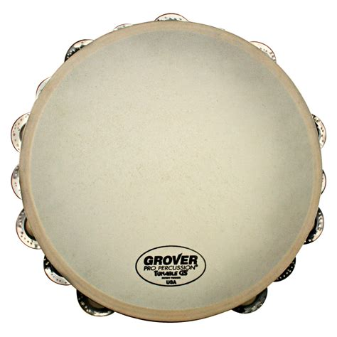 The tambourine is a musical instrument in the percussion family consisting of a frame, often of wood or plastic, with pairs of small metal jingles, called zills. Grover Pro Tunable Tambourine   Drummers World