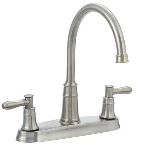Pfister Harbor High Arc 2 Handle Standard Kitchen Faucet