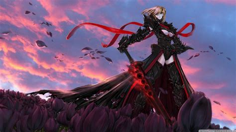 fate stay night saber alter ultra hd desktop background