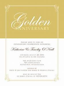 1000 images about anniversary party ideas on pinterest With 50th wedding anniversary invitations vistaprint