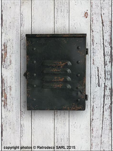 distributeur papier cuisine boite à clés déco industrielle antic line seb12306