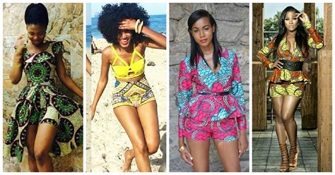 7 Fashionable *** Shorts in Ankara Prints