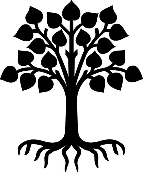 family tree with roots clipart tree with roots black clip at clker vector clip
