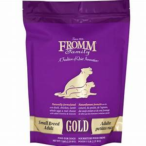 fromm gold adult dog food small breed 5 lb With fromm adult dog food