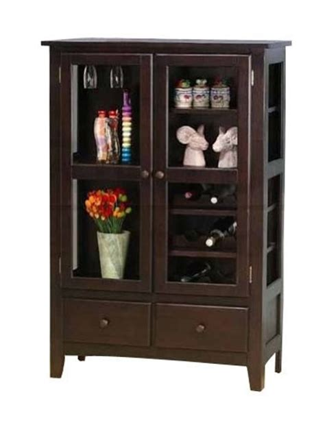 Coaster Glass Curio Cabinet In Cappuccino by 17 Best Images About China Cabinets On Corner
