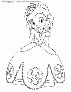 Sofia Drawings Coloring Pages
