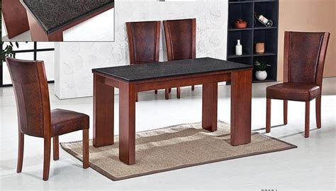 china granite dining table set china rubber wood dining