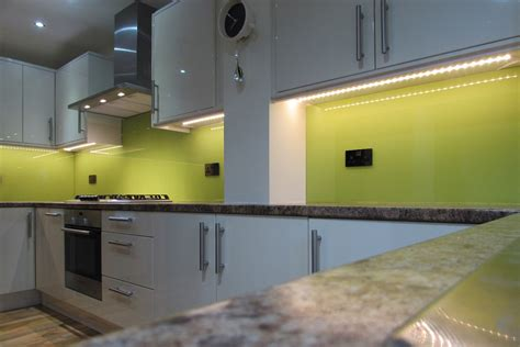 lime green splashback kitchen made to measure glass splashbacks coloured glass glass 7110