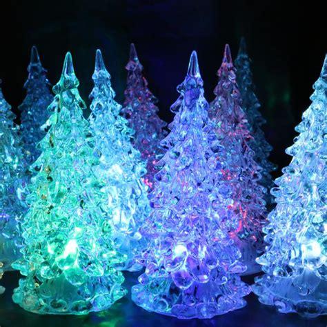 led christmas night lights mini christmas tree night lights led flashing night lights
