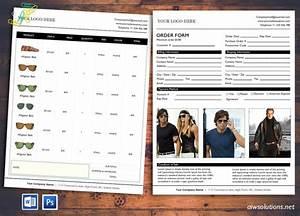 Cv Form Download Price Sheet Order Form Template Cover Order Form