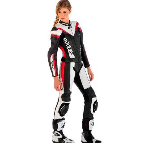motorcycle riding leathers spyke 4race div leather motorcycle suits for women
