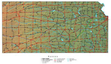 kansas map  maps  kansas state