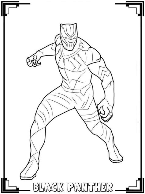 black panther coloring pages black panther in 2019