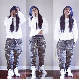 Pin by Brittany Black on tomboy swag   Pinterest   Tomboys Camo Pants and Swag