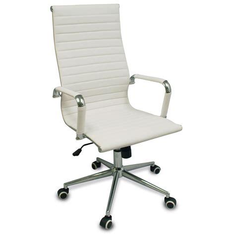 white modern desk chair new white modern executive ergonomic conference computer