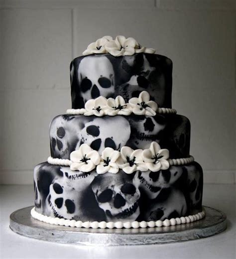 nightmare before christmas cupcake toppers skull cakes cake ideas for a wedding yule winter