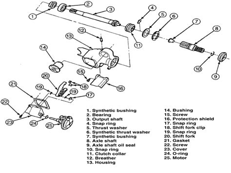 1998 Ford Ranger 4x4 Diagram by Just Bought A 1998 Ford Ranger 4x4 Was Told By Previous