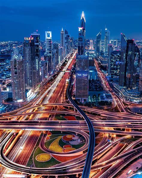 Dubai Nights - skyscrapers of Dubai at night - Afghanistan ...