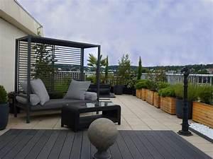 Petite Terrasse Aménagée. loft industriel au design int rieur d ...