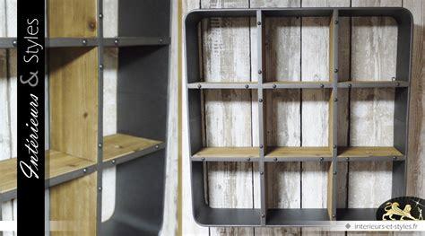 etag 232 re murale de style industriel en bois et en m 233 tal int 233 rieurs styles