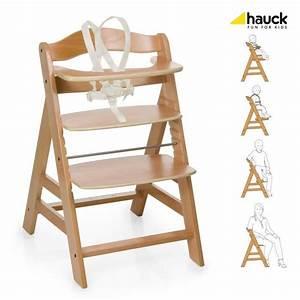 Chaise Haute Bébé Bois : hauck chaise haute en bois volutive alpha bois achat ~ Melissatoandfro.com Idées de Décoration