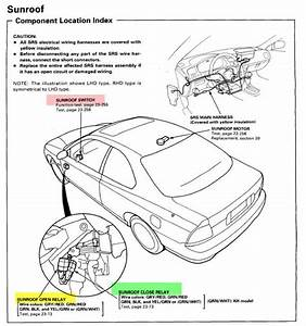 Honda Accord Sunroof Wiring Diagram