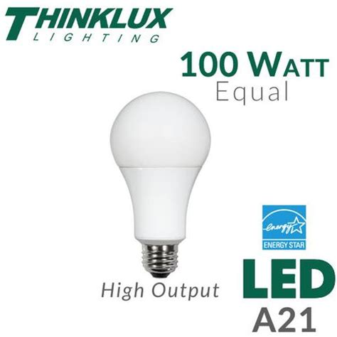 led light bulb 100 watt equal dimmable earthled