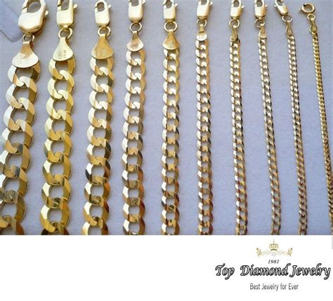 36 gold chain gold authentic 14k solid gold 39 s cuban link chain