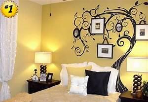 paint ideas for bedrooms with accent wall With wall painting designs for bedroom
