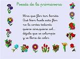 poemas cortos de la primavera   en la clase nos hemos ...