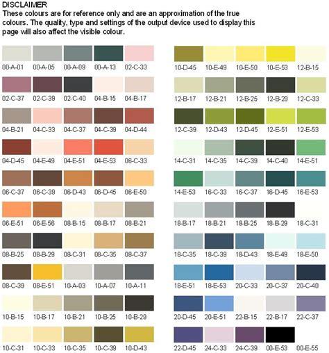 100 international paint color guide color charts