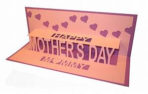 happy mother's day personalised pop up card by ruth ...