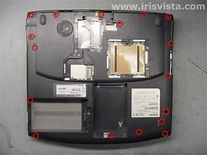 How To Disassemble And Repair Manual For Toshiba Satellite