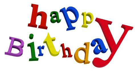 Happy Birthday Clip Art Black And White Images Free