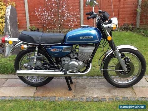 Suzuki 250 Motorcycle For Sale by 1975 Suzuki Gt 250 Ram Air For Sale In United Kingdom