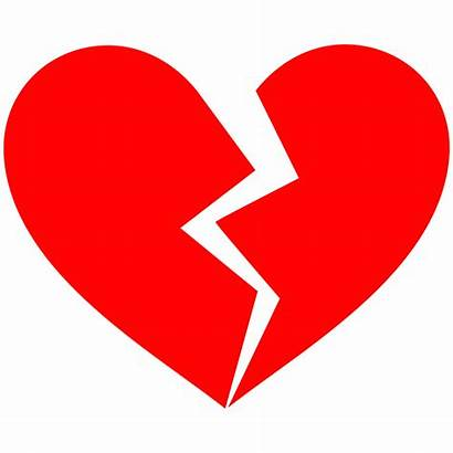 Messy Breakup Circuit Broken Heart Clipart