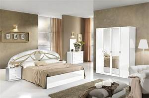chevet athena chambre a coucher blanc With photo des chambres a coucher