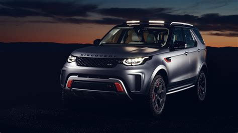 2018 Land Rover Discovery Svx 4k Wallpaper